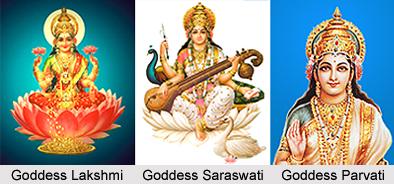 Consorts of Lord Vishnu