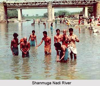 Shanmuga Nadi River, Palani, Tamil Nadu