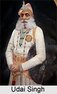 Maharana Udai Singh, Founder of Udaipur City