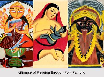 Folk Paintings of West Bengal