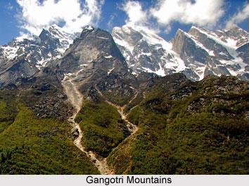Gangotri group of mountains, Uttarakhand