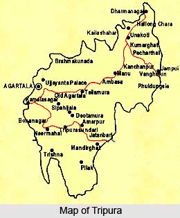 Districts of Tripura