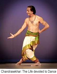 C.V.Chandrasekhar, Indian Dancer