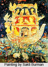 Sakti Burman, Indian artist