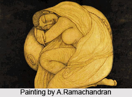 A.Ramachandran, Indian Painter