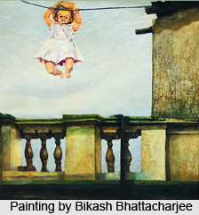Bikash Bhattacharjee, Indian artist