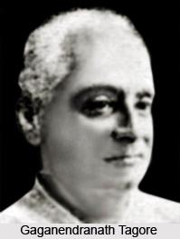Gaganendranath Tagore, Indian Painter