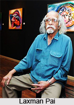 Laxman Pai, Indian Painter