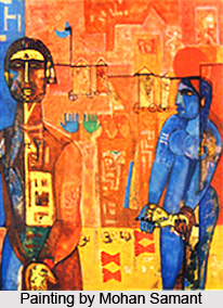 Mohan Samant, Indian Painter