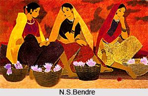 N.S.Bendre, Indian Artist