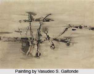 Vasudeo S. Gaitonde, Indian Painter