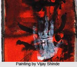 Vijay Shinde, Indian Painter