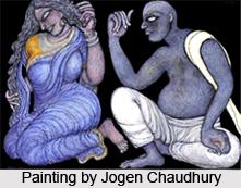 Jogen Chowdhury, Indian artist