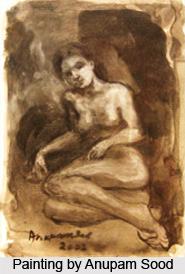 Anupam Sood, Indian Painter