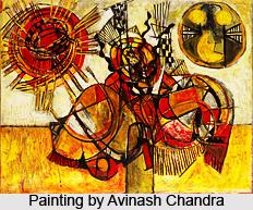 Avinash Chandra, Indian artist