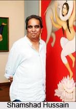 Shamshad Hussain, Indian Painter
