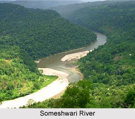 Someshwari River, Meghalaya