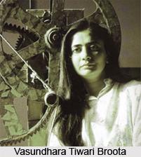 Vasundhara Tiwari Broota, Indian Painter