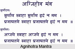 Agnihotra, Indian Ceremony