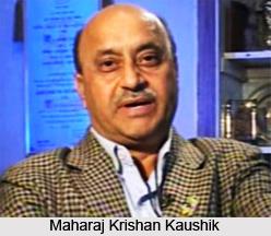 Maharaj Krishan Kaushik  , Indian Hockey Player