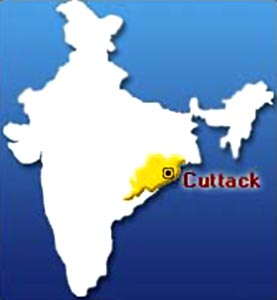 Cuttack Map