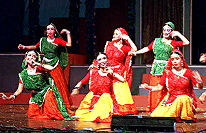 dance in  New Delhi