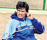 Arjuna Awardee in Hockey - Dhanraj Pillay