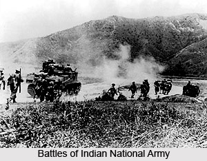 Battles of Indian National Army