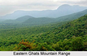 Eastern Ghats Mountain Range in India