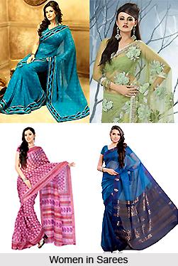 Sarees and Indian Women