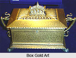 Gold Art in Mughal Empire