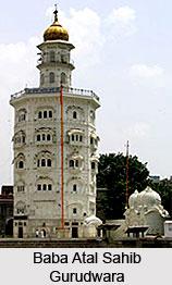 Gurudwara Baba Atal Sahib, Amritasar, Punjab