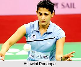 Ashwini Ponappa, Indian Badminton Player Badminton Player Pairs Of India