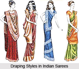 Basic Draping Styles in Indian Sarees