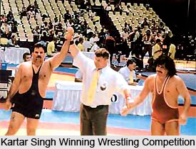 Kartar Singh, Indian Wrestler