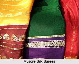 Mysore Silk Sarees, Sarees of South India
