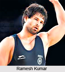 Ramesh Kumar, Indian Wrestler