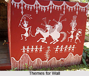 Wall Decoration, Indian Tribal Art