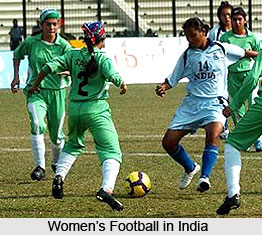 Women's Football in India, Indian Football