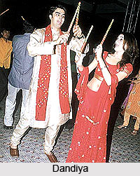 Dandiya , Indian Folk Dance