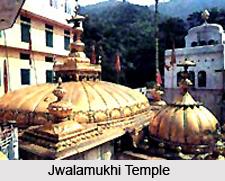 Jwalamukhi Temple, Jwalamukhi, Kangra, Himachal Pradesh