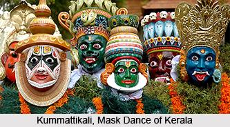Kummattikali, Folk Dance of Kerala