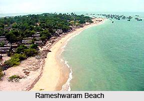 Rameshwaram Beach, Tamil Nadu