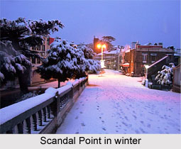 Scandal Point, Shimla, Himachal Pradesh