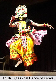 Thullal, Art Form of Kerala