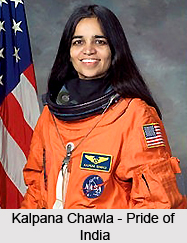 Kalpana Chawla in NASA, Indian astronaut