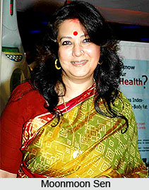 Moonmoon Sen, Indian Actress