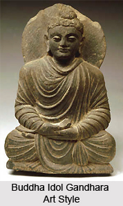 Mathura Buddha, Indian Sculpture