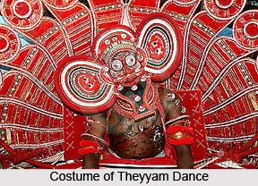 Theyyam , Folk Dance of Kerala