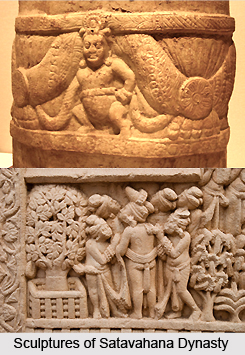 Ancient Sculptures of the Satavahana Empire